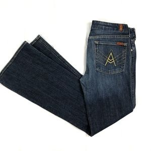 7 Seven For All Mankind A Pocket Boot Cut  32 X 33